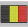 BELGIUM FLAG Embroidered Patch