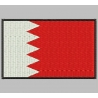BAHRAIN FLAG Embroidered Patch