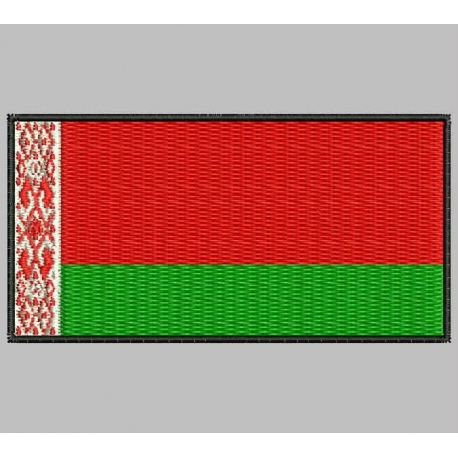 BELARUS FLAG Embroidered Patch