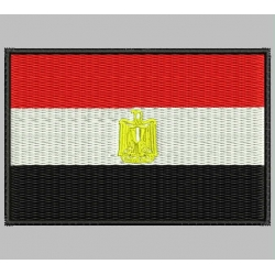 EGYPT FLAG Embroidered Patch