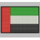 ARAB EMIRATES FLAG Embroidered Patch