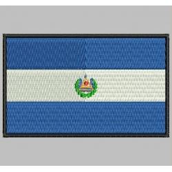 EL SALVADOR FLAG Embroidered Patch
