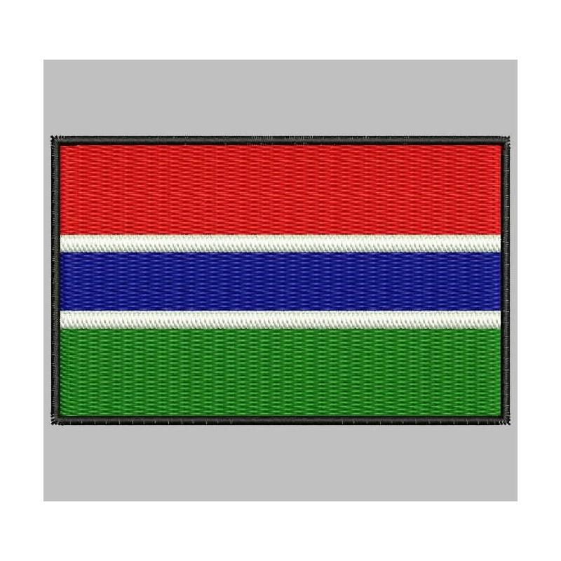 Parche bandera Gambia