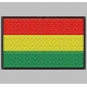 BOLIVIA FLAG Embroidered Patch