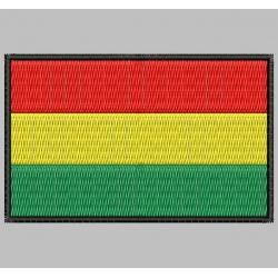 Parche Bordado Bandera BOLIVIA