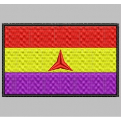INTERNATIONAL BRIGADES PATCH Embroidered Patch