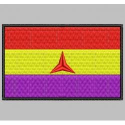 Parche Bordado Bandera BRIGADAS INTERNACIONALES