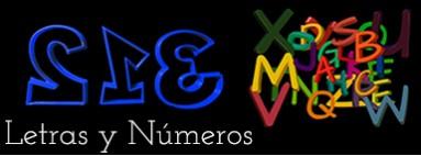 Parches Bordados Letras y Numeros