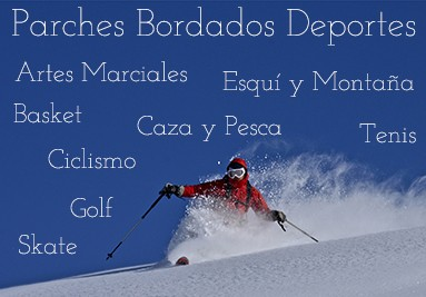 Parches Bordados Deportes